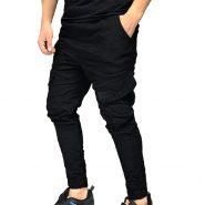 شلوار شش جیب دمپا گتر برند PULL&BEAR